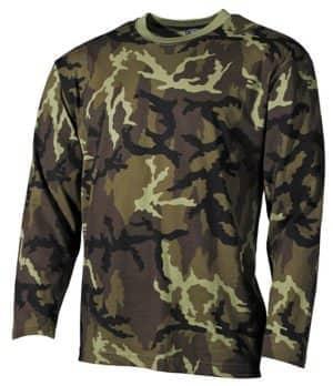 US Tarn-Shirt, langarm, M 95 CZ tarn