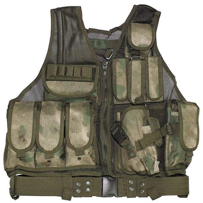 """Weste, """"USMC"""", HDT-camo FG, Koppel, Holster, div. Taschen"""