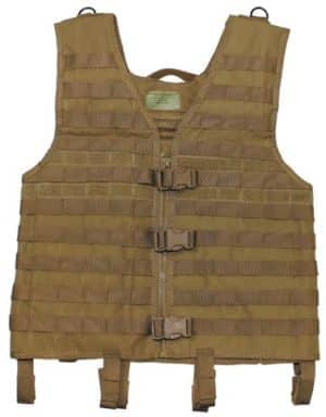 "Weste, ""Molle light"", coyote tan, Modular System"