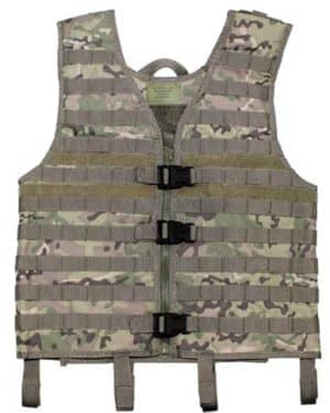 "Weste, ""Molle light"", operation-camo, Modular System"