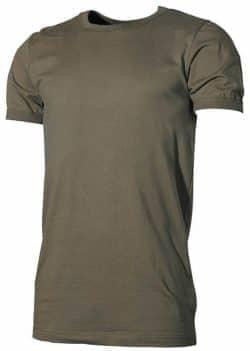 BW Unterhemd, halbarm, oliv