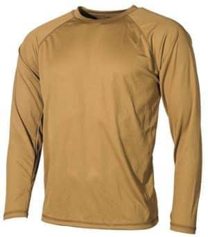 US Unterhemd, Level I, GEN III, coyote tan