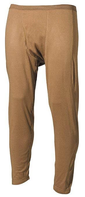 US Unterhose, Level II, GEN III, coyote tan