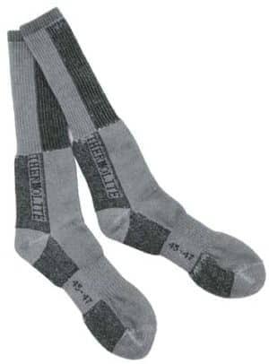 "Wintersocken, ""Polar"", oliv-weiß"