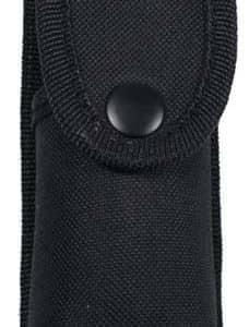 Verteidigungsspray-Etui, Nylon, schwarz