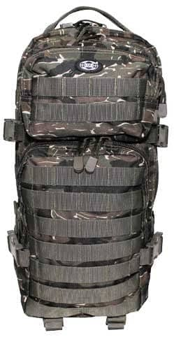 US Rucksack, Assault I, tiger stripe