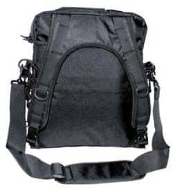 """Schultertasche und Rucksack in einem, """"MOLLE"""", schwarz"""