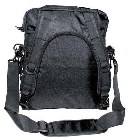 schultertasche und rucksack in einem molle schwarz outdoor. Black Bedroom Furniture Sets. Home Design Ideas