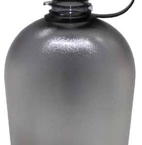 US Feldflasche, GEN II, schwarz/transparent, 1 Liter