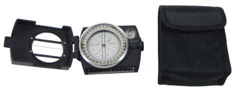 "Kompass, ""Precision"", Metallgehäuse, Peileinrichtung"