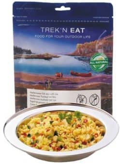"""Trek 'n Eat, """"Mediterraner Fischtopf mit Reis"""""""